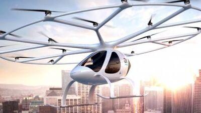 ВИДЕО: Шеикот веќе го проба првото летачко такси