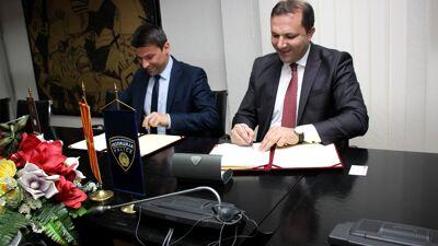 МВР склучи договор за соработка со Славјански Универзитет