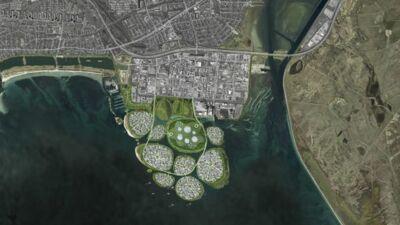 Данска ќе прави девет вештачки острови за производство на обновлива енергија