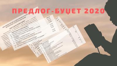 Каков е предлог буџетот за образование во 2020?
