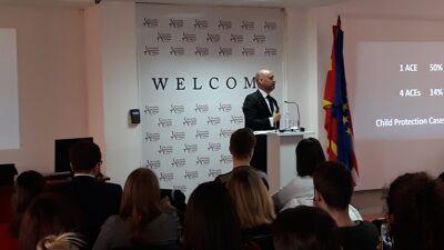 Бенџамин Перкс, Претставник на УНИЦЕФ во Р.С. Македонија – гостин предавач на УАКС